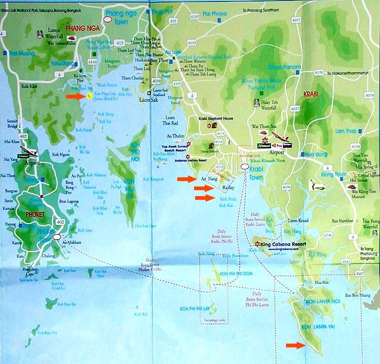 Krabi – Ao Nang, Railay: Playas, qué Ver, Excursiones…. - Foro de Tailandia - LosViajeros